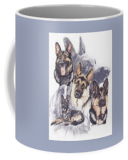 German Shepherd Medley Coffee Mug