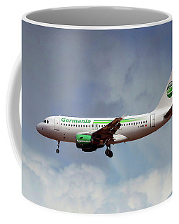 Germania Airbus A319-112 Coffee Mug