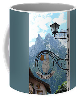 Germany - Cafe Sign Coffee Mug
