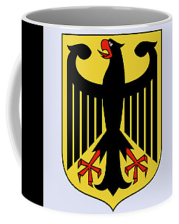 Coffee Mug featuring the drawing Germany Coat Of Arms by Movie Poster Prints