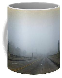 Coffee Mug featuring the photograph Gervais Bridge Christmas Day by Steven Richardson