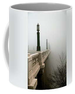 Gervais Street Bridge Coffee Mug by Skip Willits