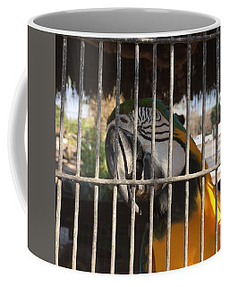 Get Me Outa Here Coffee Mug by Val Oconnor