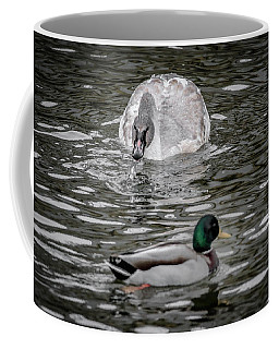 Coffee Mug featuring the photograph Get Off Of My Lawn by Ray Congrove