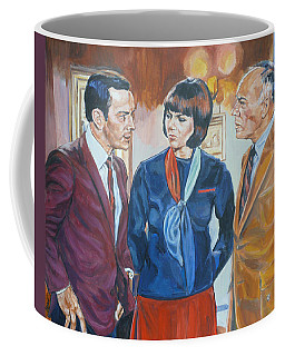 Get Smart Coffee Mug by Bryan Bustard