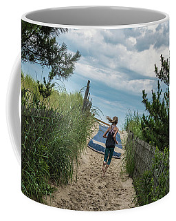 Get To The Beach Coffee Mug