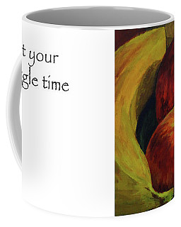 Get Your Snuggle Time Title On Side Coffee Mug
