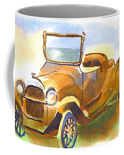 Coffee Mug featuring the painting Getting A Little Rusty by Kip DeVore
