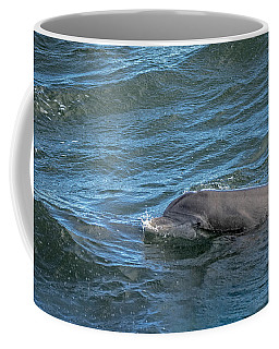 Coffee Mug featuring the photograph Getting Air by Steven Santamour