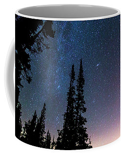 Coffee Mug featuring the photograph Getting Lost In A Night Sky by James BO Insogna