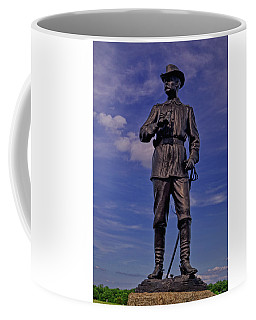 Coffee Mug featuring the photograph Gettysburg - Major General John Buford by George Bostian