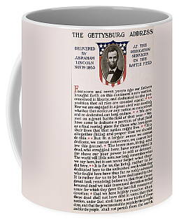 Gettysburg Address Coffee Mug by International  Images