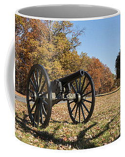 Gettysburg - Cannon In East Cavalry Battlefield Coffee Mug