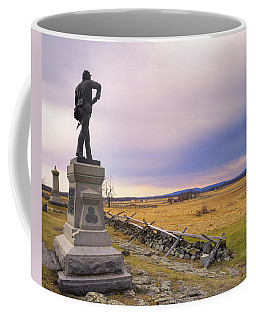 Gettysburg Monument I Coffee Mug by Marianne Campolongo