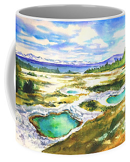 Geyser Basin, Yellowstone Coffee Mug