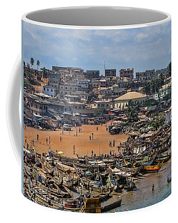 Ghana Africa Coffee Mug by David Gleeson