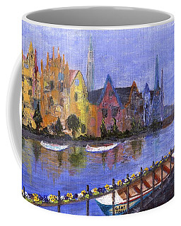 Coffee Mug featuring the painting Ghent by Jamie Frier