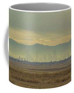 Ghost Buildings Coffee Mug