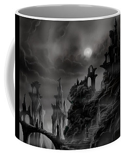Ghost Castle Coffee Mug by James Christopher Hill