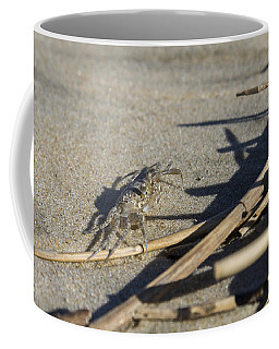 Ghost Crab Eyes The Debris Coffee Mug
