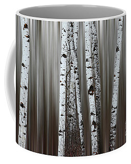 Coffee Mug featuring the photograph Ghost Forest 1 by Bob Christopher