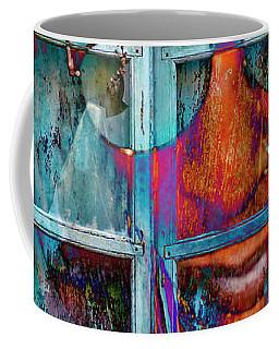 Ghost Goes Through Wall Coffee Mug