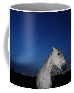 Ghost Horse Coffee Mug