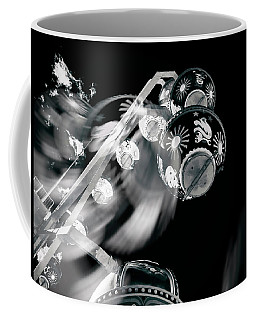 Coffee Mug featuring the photograph Ghost In The Machine by Wayne Sherriff