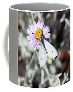 Ghost Moth In Pastel Coffee Mug