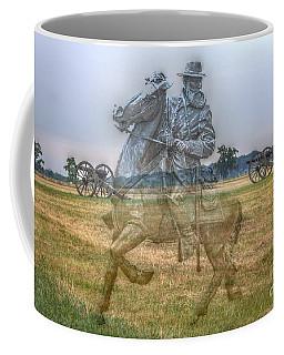 Ghost Of Gettysburg Coffee Mug by Randy Steele