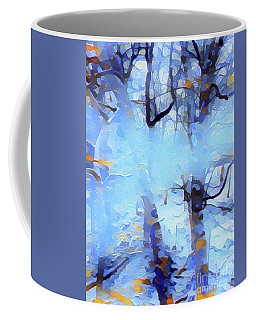 Ghost Of Snow Coffee Mug