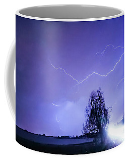 Coffee Mug featuring the photograph Ghost Rider by James BO Insogna