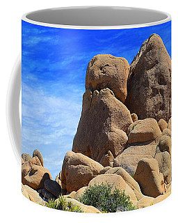 Ghost Rock - Joshua Tree National Park Coffee Mug by Glenn McCarthy Art and Photography