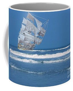 Ghost Ship On The Treasure Coast Coffee Mug