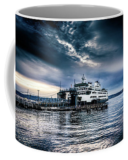 Coffee Mug featuring the photograph Ghost Ship by Spencer McDonald