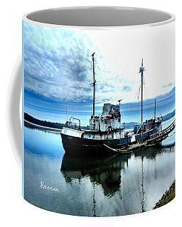Ghost Ship Trawler - 2 Coffee Mug by Sadie Reneau