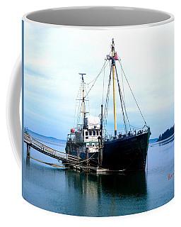 Ghost Ship - Trawler Coffee Mug by Sadie Reneau
