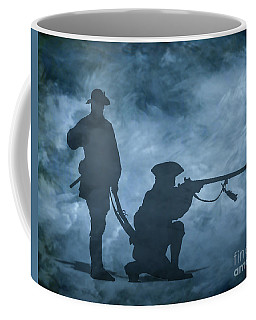 Coffee Mug featuring the digital art Ghost Soldiers by Randy Steele