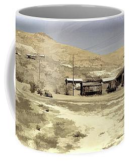 Ghost Town Textured Coffee Mug