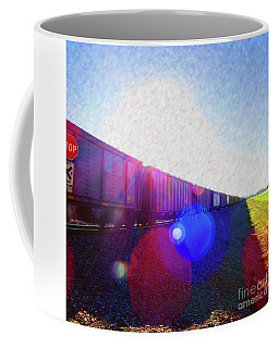 Ghost Train To Glory Coffee Mug by Desiree Paquette