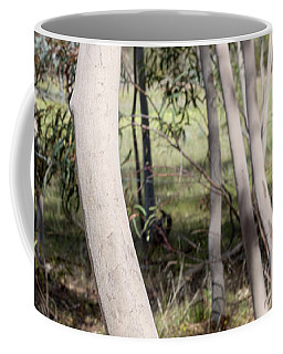 Coffee Mug featuring the photograph Ghostly Gums by Linda Lees