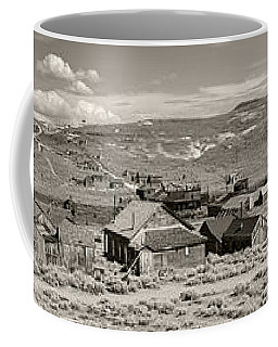 Ghostly Panorama Tobacco Coffee Mug