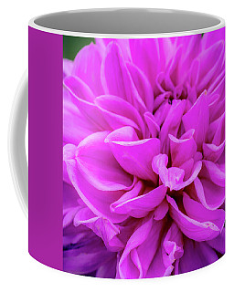Giant Dahlia Fuhsia Coffee Mug
