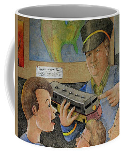 Giant Shows The Toy Train Coffee Mug