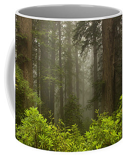 Giants In The Mist Coffee Mug