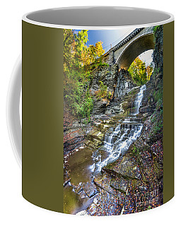 Giant's Staircase Under College Avenue Bridge Coffee Mug