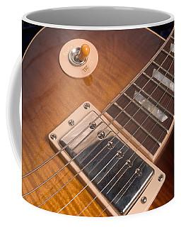 Gibson Les Paul Guitar By Gene Martin Coffee Mug