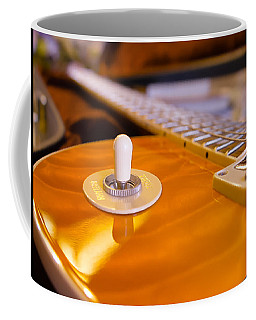 Yellow Quilt Guitar Top Coffee Mug