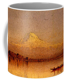 Gifford Sanford Robinson Mount Rainier Bay Of Tacoma Coffee Mug