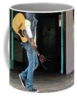 Coffee Mug featuring the photograph Gig Less by Joe Jake Pratt